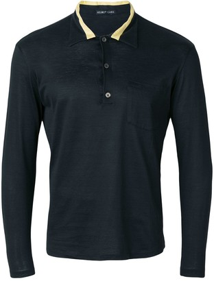 Helmut Lang Pre-Owned Long sleeve polo shirt