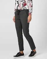Le Château Tweed Drawstring Track Pant