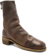 Guidi Baby Buffalo Full Grain Back Zip Boots in Brown | FWRD
