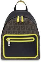 Fendi large FF motif backpack