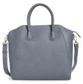 Sole Society Giada Braided Faux Leather Satchel - Grey
