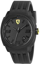 Ferrari Lap Time Quartz Analog Black Dial Men's Watch 830112