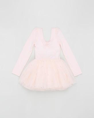 Flo Dancewear Long Sleeve Tutu Dress - Kids