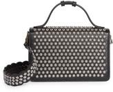 Alaia Small Franca Studded Leather Shoulder Bag