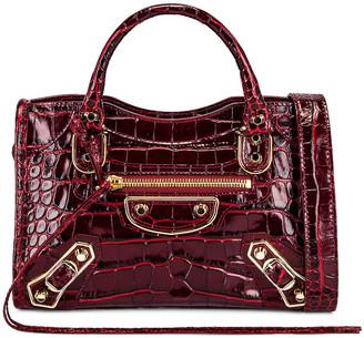 Balenciaga Mini City Bag in Dark Red | FWRD