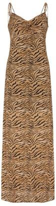 Vix Tiger Print Maxi Dress