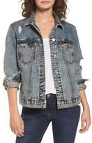 BP Bossy Embellished Denim Jacket