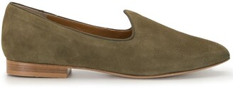 Le Monde Beryl Suede 15mm Slippers
