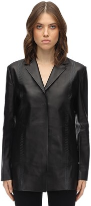 Alyx Leather Classic Blazer