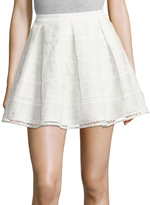 Endless Rose Pleated Organza Skirt