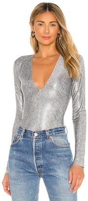 Alix Irving Metallic Bodysuit