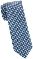 Salvatore Ferragamo Stingray-Print Silk Tie