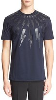 Neil Barrett Tonal Thunderbolt Graphic T-Shirt