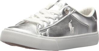 Polo Ralph Lauren Kids Unisex-Kid's Easton Sneaker