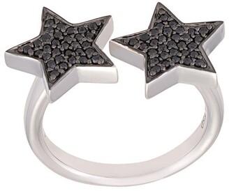 Alinka 'Stasia' diamond double star ring
