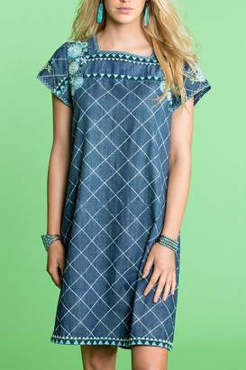 Double D Ranchwear Mexican Dress