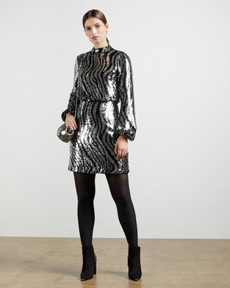 Ted Baker LOUU Sequin mini dress