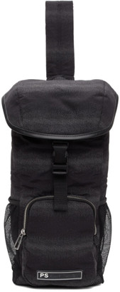 Paul Smith Black Sling Backpack