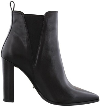 Tony Bianco Leigh Black Como Ankle Boots
