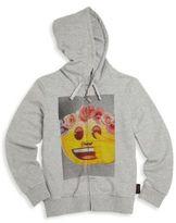 Eleven Paris Toddler's, Little Girl's & Girl's Emy Flower Crown Emoji Hoodie