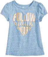 Epic Threads Follow Your Heart T-Shirt, Little Girls, Created for Macy's