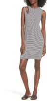 LnA Women's Stripe Cutout Dress