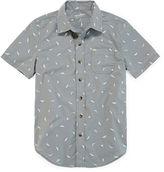 Arizona Short-Sleeve Woven Shirt - Boys 8-20 and Husky