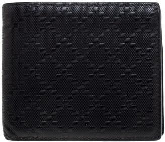 Gucci Black Diamante Leather Bi Fold Wallet