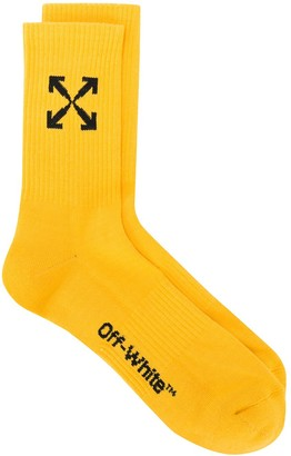 Off-White Arrows jacquard socks