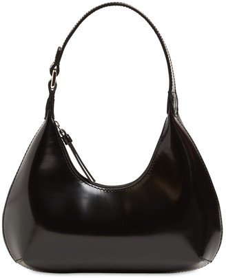 BY FAR Baby Amber Semi Patent Leather Bag