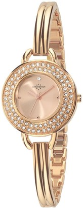 Chronostar Watches Chronostar Starlight Women's Quartz Watch with Rose Gold Dial Analogue Display and Rose Gold Strap R3753237503