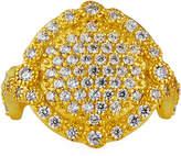 Freida Rothman Pave Disc Ring, Size 5-9