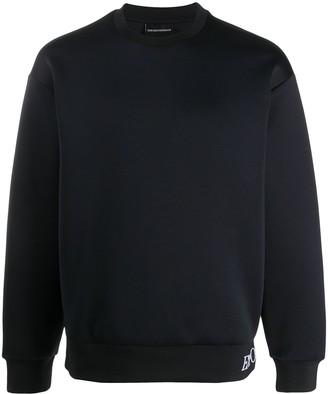 Emporio Armani Hem Logo Sweatshirt