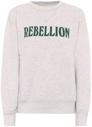 Etoile Isabel Marant Isabel Marant, étoile Rise cotton-blend jersey sweatshirt
