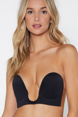 Nasty Gal Womens Out From Under Strapless Bra - Black
