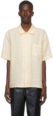 Our Legacy Yellow Box Short Sleeve Shirt