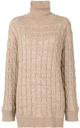 ANNA QUAN Dante cable knit jumper