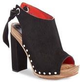 Proenza Schouler Women's Tie Back Peep Toe Sandal