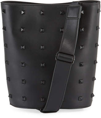 French Connection Karen Spiked Bucket Bag