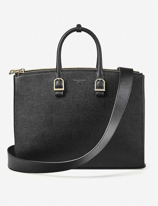 Aspinal of London Madison saffiano leather tote bag