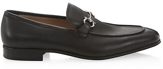 Salvatore Ferragamo Simply Leather Loafers