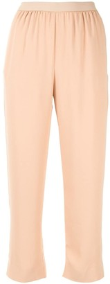MM6 MAISON MARGIELA Straight Cropped Trousers