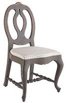 Checkered Gustavian Chair