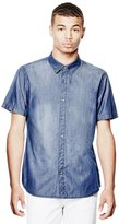 GUESS Chambray Slim-Fit Shirt