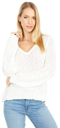 O'Neill Shores Solid Sweater (Winter White) Women's Clothing