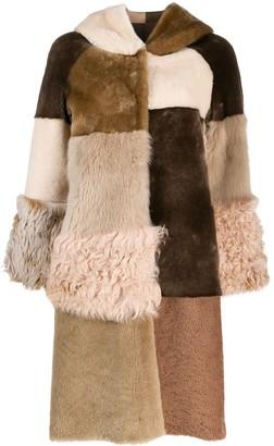 Liska Avolak shearling coat
