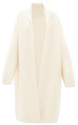 Raey Oversized Chunky-knit Cashmere Cardigan - Womens - Ivory