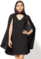 New York & Co. Cape Sheath Dress