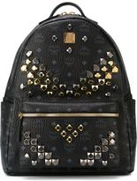 MCM studded 'Stark' backpack - women - Metal (Other)/PVC - One Size
