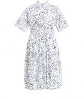 Kenzo White Cotton Dress